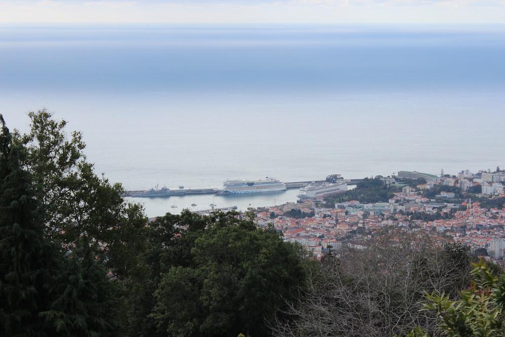 Madeira - Blick auf die Aida