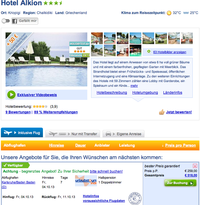 Berlin G Ef Bf Bdnstig Flug Und Hotel