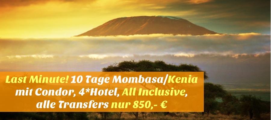 Last minute 10 tage mombasa kenia mit condor for Last minute designhotel