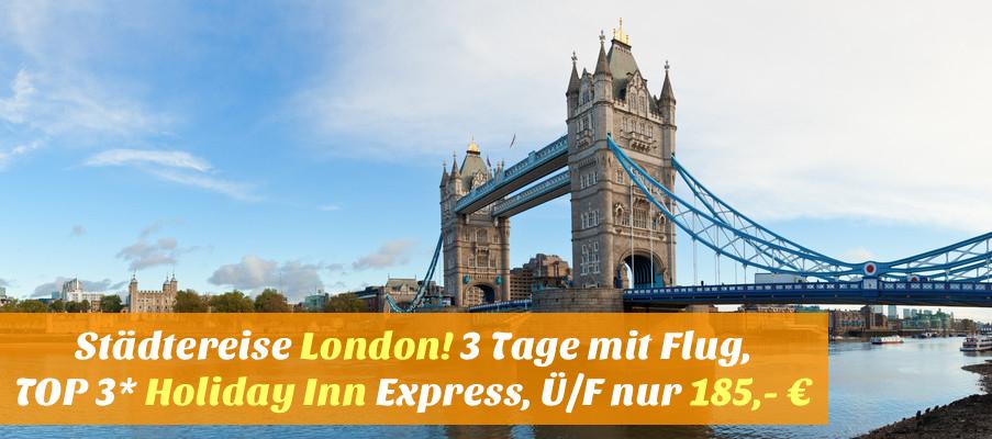 London Kurzreise Flug Und Hotel