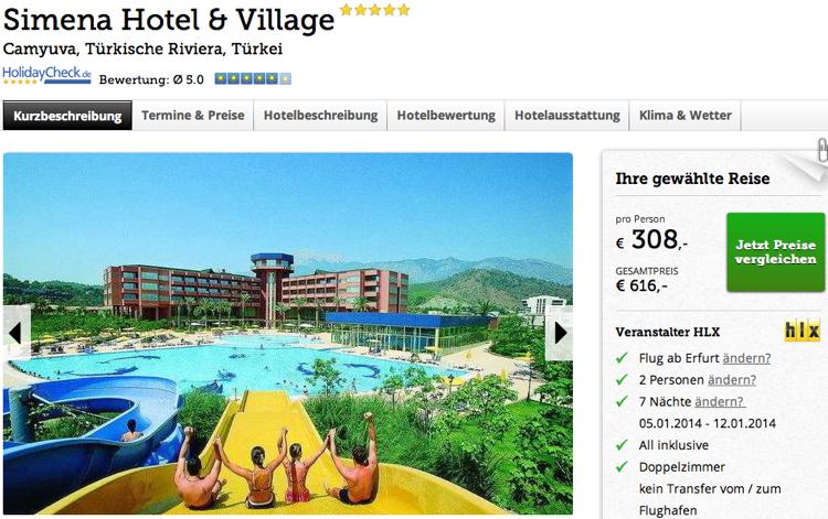 Top Hotel Turkei  Sterne