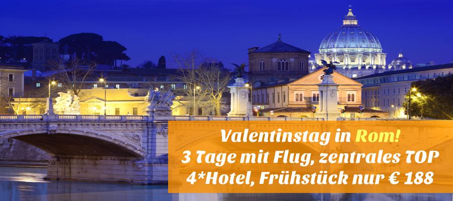 Reisehugo.de Valentinstag in Rom! 3 Tage mit Air Berlin, sehr ...