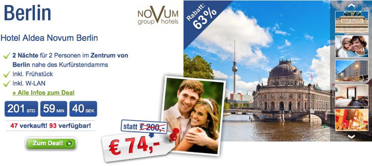 Deal Des Tages Hamburg Hotel