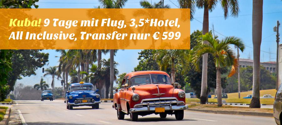 Flug Mit Hotel Urlaub Im Januar In Kuba