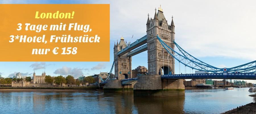 Kurzreise London Mit Flug Und Hotel