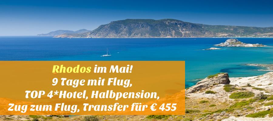 Reisehugo De Rhodos Im Mai 9 Tage Mit Tuifly Ausgezeichnetes 4