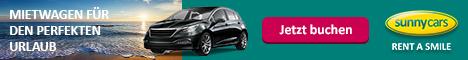sunnycars Mietwagen Preisvergleich