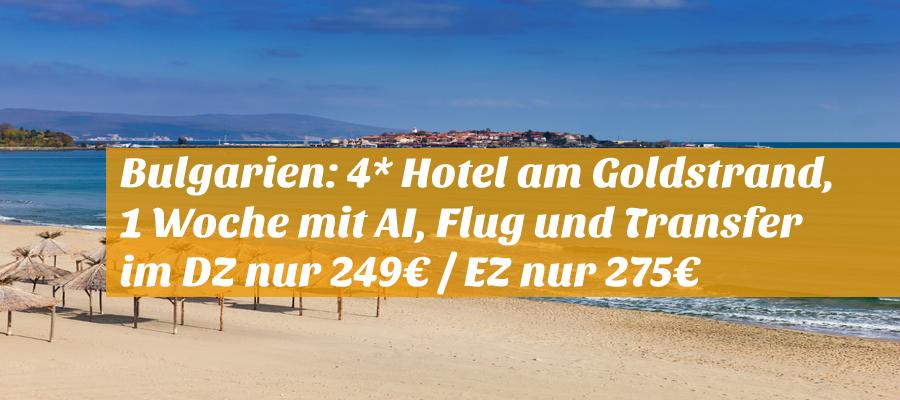 Bulgarien Hotel Und Flug
