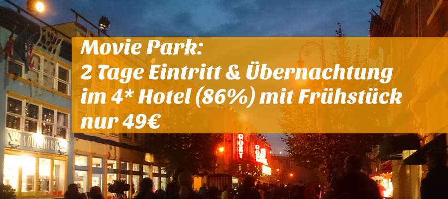 Movie Park Hotel Mit Eintritt