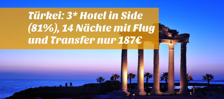 Last Minute Flug Und Hotel Side