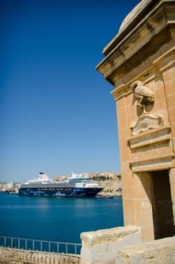 Mein Schiff in Valletta