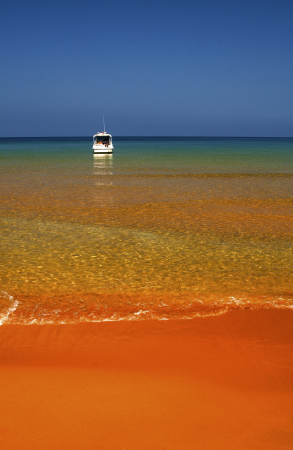 Roter Strand auf Gozo