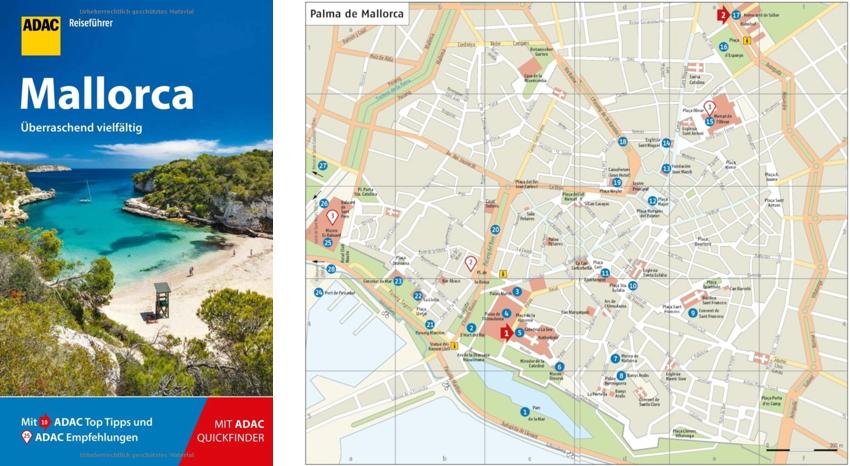 Amazon karte Mallorca, adac Reiseführer Mallorca