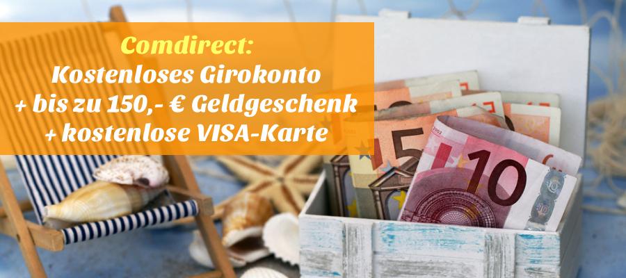 Reisehugode Top Das Kostenlose Girokonto Der Comdirect Mit Bis Zu