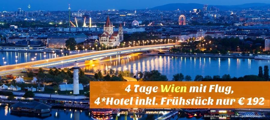Flugreise Nach Wien Mit Hotel