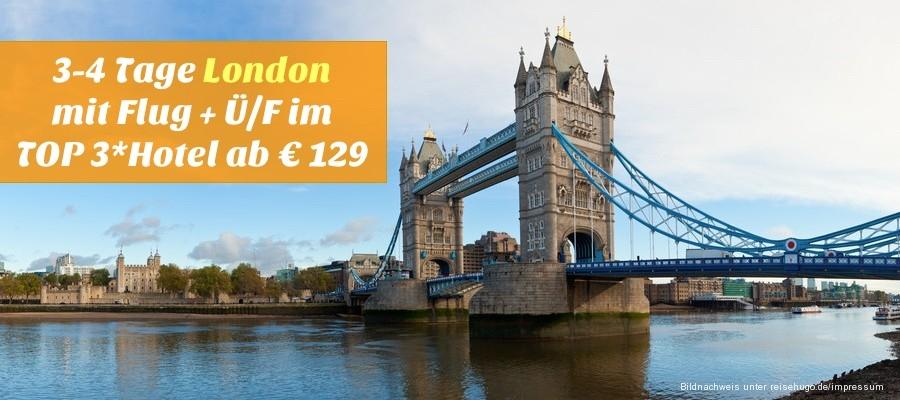 Kurztrip Nach London Mit Flug Und Hotel