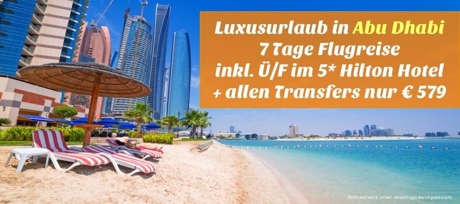 Reisehugode Tui Luxusurlaub In Abu Dhabi 7 Tage Flugreise Inkl