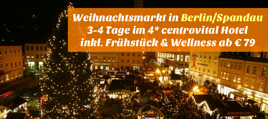 Reisehugode Berlin 3 4 Tage Im 4 Centrovital Hotel Spa Sport