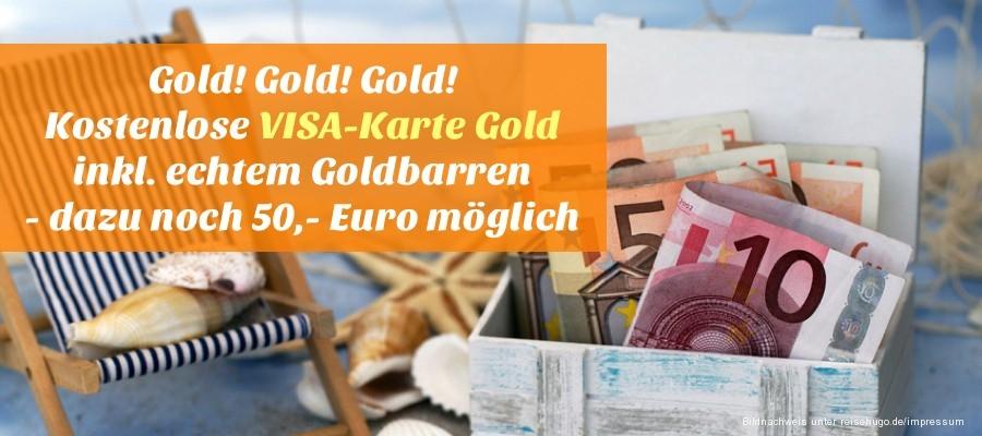 Kostenlose Visa Karte.Reisehugo De Gold Gold Gold Kostenlose Visa Karte Gold Beantragen
