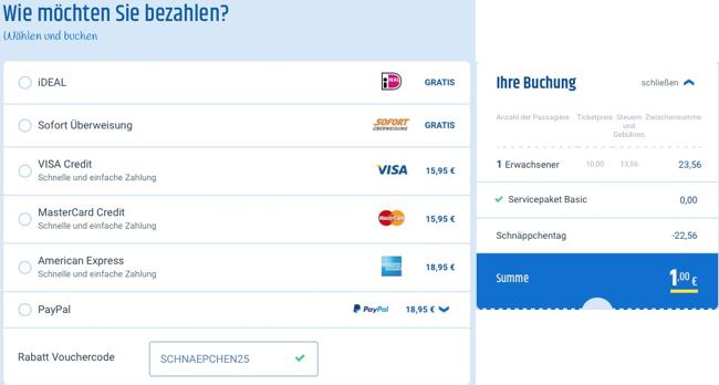 cheaptickets.de schnäppchentag, billigflug paris