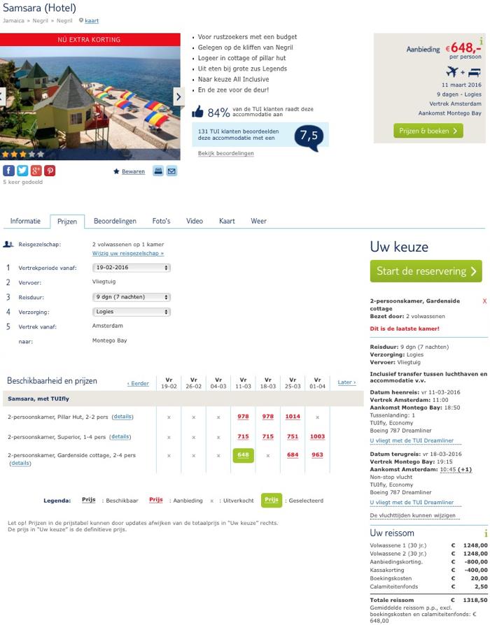 jamaika reise billig