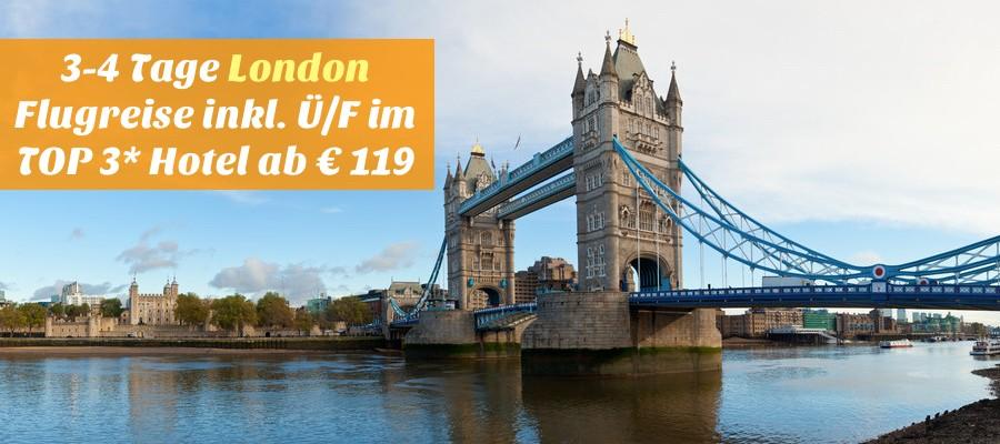 London flugreise angebot, london urlaub angebot, london städtereise angebot, travelbird deal london