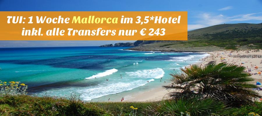 beautiful beach on the island mallorca spain