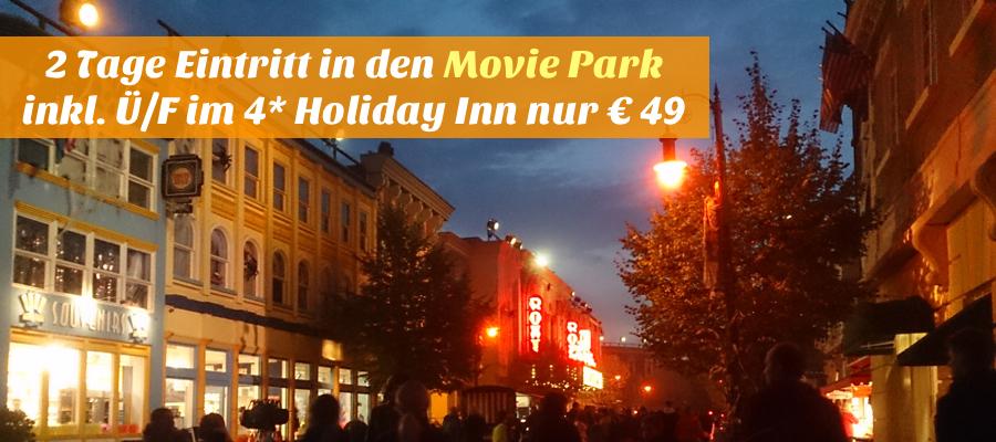 Movie Park Angebot Mit Hotel