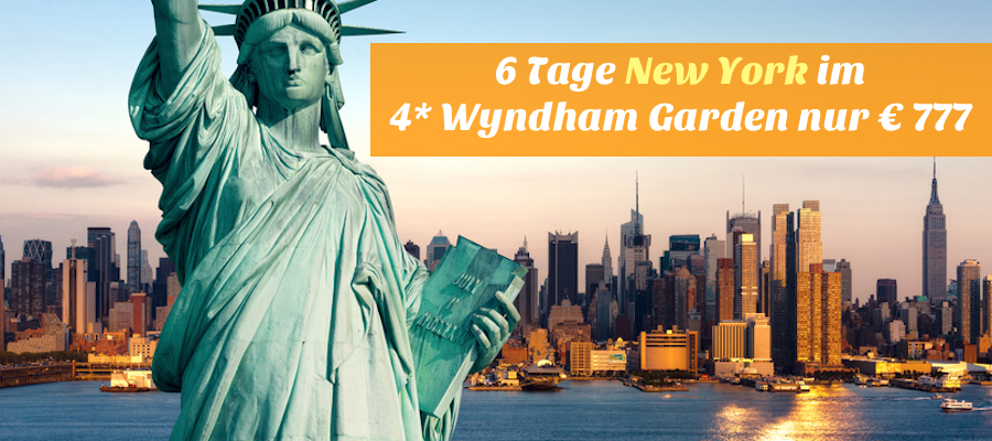 New-York reise billig, new york Wyndham Garden Long Island City angebot, new york kurzreise angebot