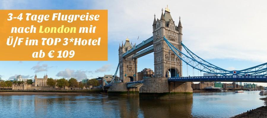 London kurzreise, london deal
