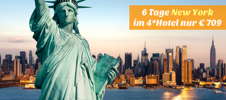 New-York urlaub last minute angebot, new york urlaub billig