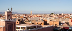 Historical walled city of Marrakesh, Morocco