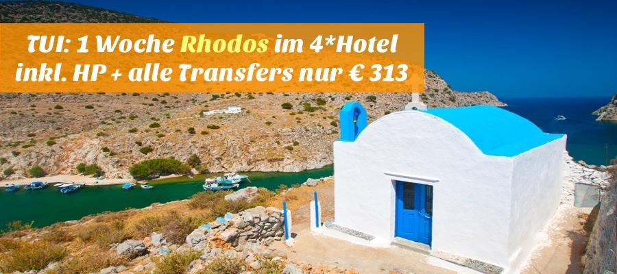 Reisehugo De Tui 1 Woche Rhodos Mit Flug 4 Hotel 94
