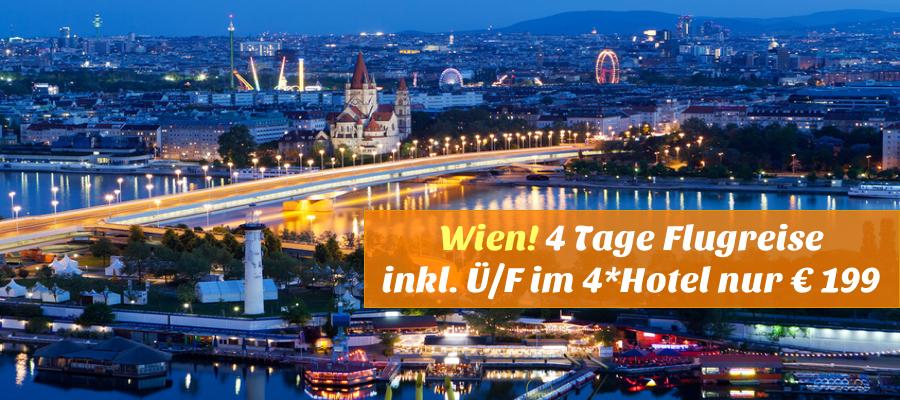Flugreise Wien Hotel