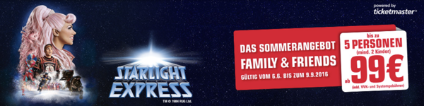 starlight express aktion, starlight express gutschein, starlight express rabatt, starlight express ticketmaster, starlight express sonderangebot, starlight express gratis