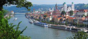 Passau, The City of Three Rivers, Bavaria, Germany