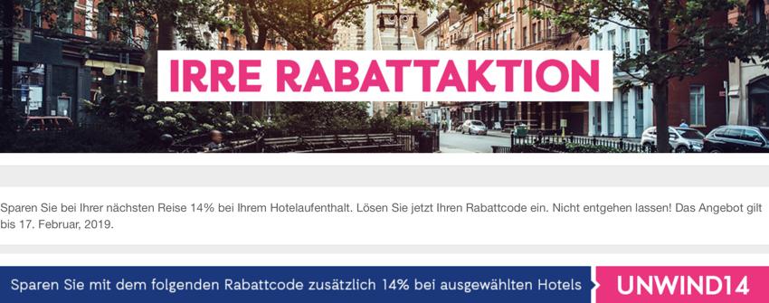 Rabatt ebookers.de