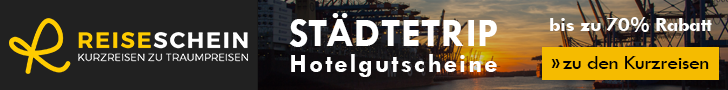 Reiseschein logo, Reiseschein Banner, Reiseschein Werbung, Reiseschein Hotelgutschein