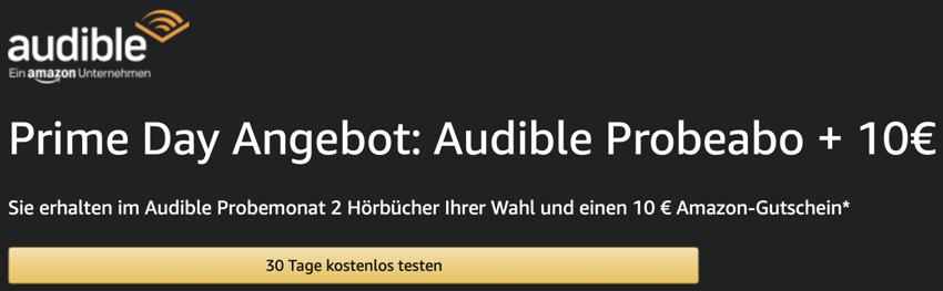 amazon Audible kostenlos, Hörbücher kostenlos