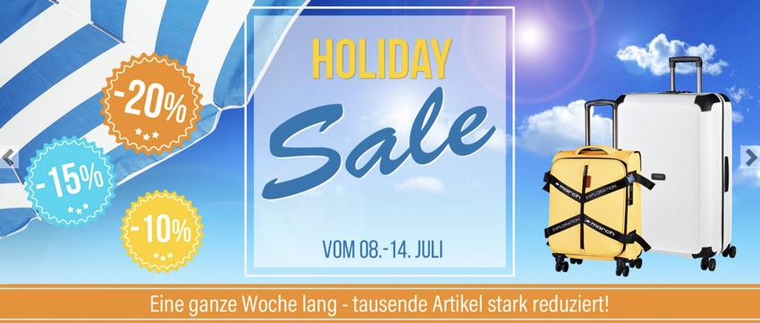 koffer-direkt.de sale, holiday sale koffer, Rabatt koffer-direkt.de
