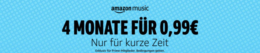 amazon music nur 99 Cent