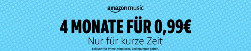 amazon music nur 99 Cent