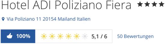 Poliziano Fiera Hotel Mailand, Poliziano Fiera Hotel, holidaycheck Bewertung reisen Hotels