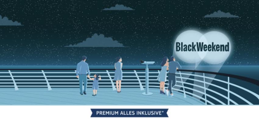 tui cruises angebot der Woche, mein schiff Aktion, Mein Schiff Angebot, TUI Cruises black weekend