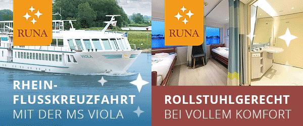 RUNA Reisen Rollstuhlurlaub Pflegehotels betreutes Reisen Flusskreuzfahrt