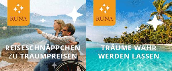 RUNA Reisen Rollstuhlurlaub Pflegehotels betreutes Reisen