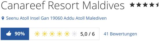 holidaycheck Bewertungen und reisen und Hotels, hotel Canareef Resort Maldives