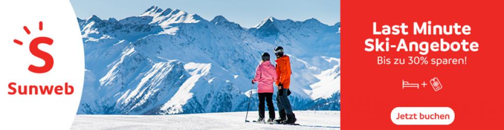 Skiurlaub Deal