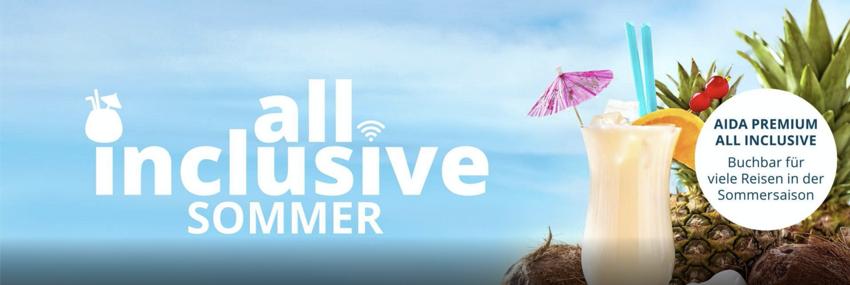 AIDA Premium All Inclusive Sommer, AIDA Premium All Inclusive Kreuzfahrten, Tarife aida