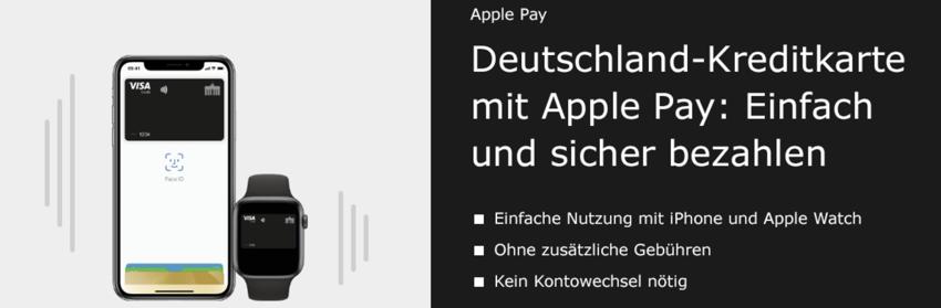 Apple Pay Deutschland Kreditkarte